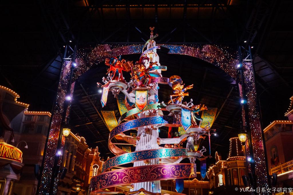 東京迪士尼陸地35週年:世界市集燈光投影