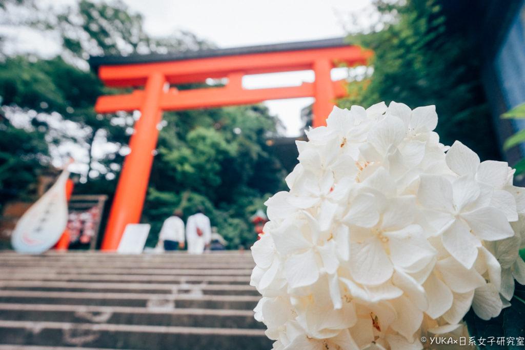 江之島:江島神社