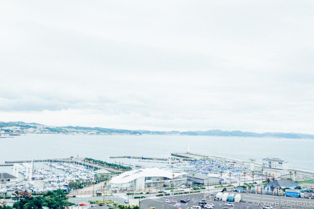 江之島:江島神社景色