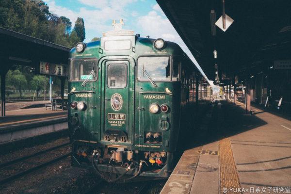 【熊本】九州D&S觀光列車:翡翠山翡翠かわせみやませみ(熊本~人吉)