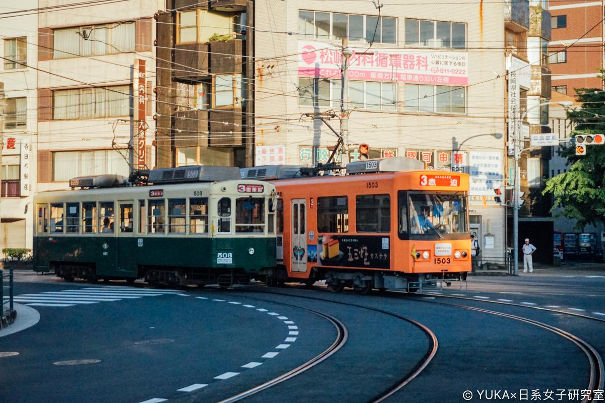 長崎交通攻略:長崎路面電車