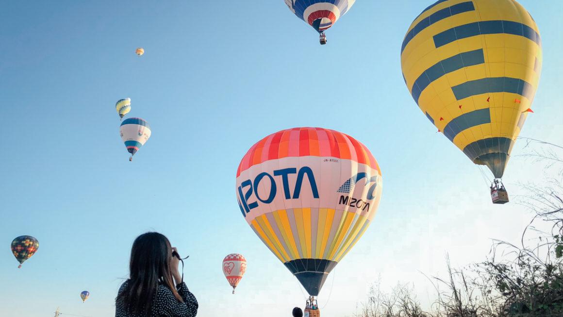 【佐賀】2019佐賀國際熱氣球節:交通、行程推薦