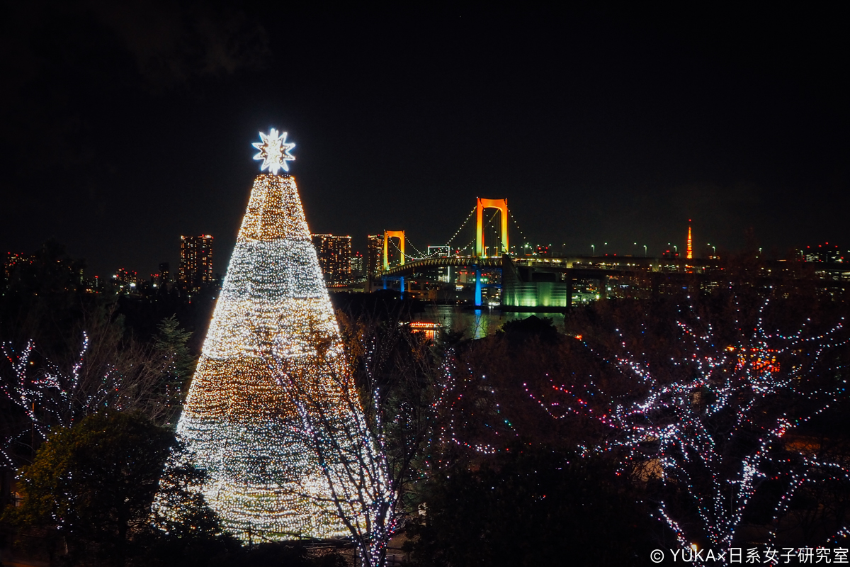 東京台場 12月聖誕節