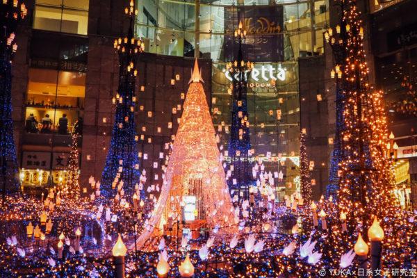 【東京】2019日本東京12月景點推薦:聖誕節點燈(汐留、六本木、台場)、聖誕節迪士尼!(內附12月東京聖誕節自由行程參考)