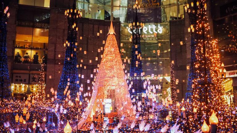 東京聖誕節自由行 汐留Caretta