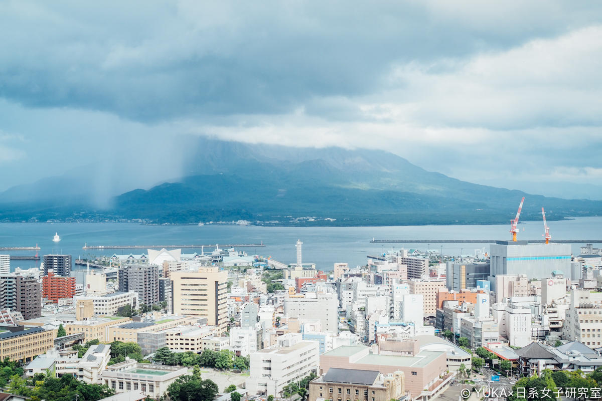 鹿兒島景點 城山展望台 櫻島