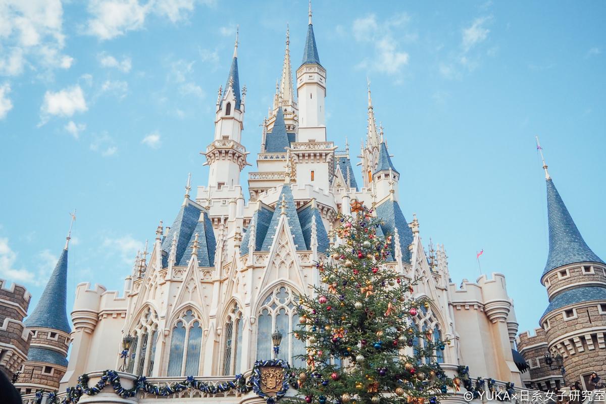 東京迪士尼樂園 聖誕節 城堡