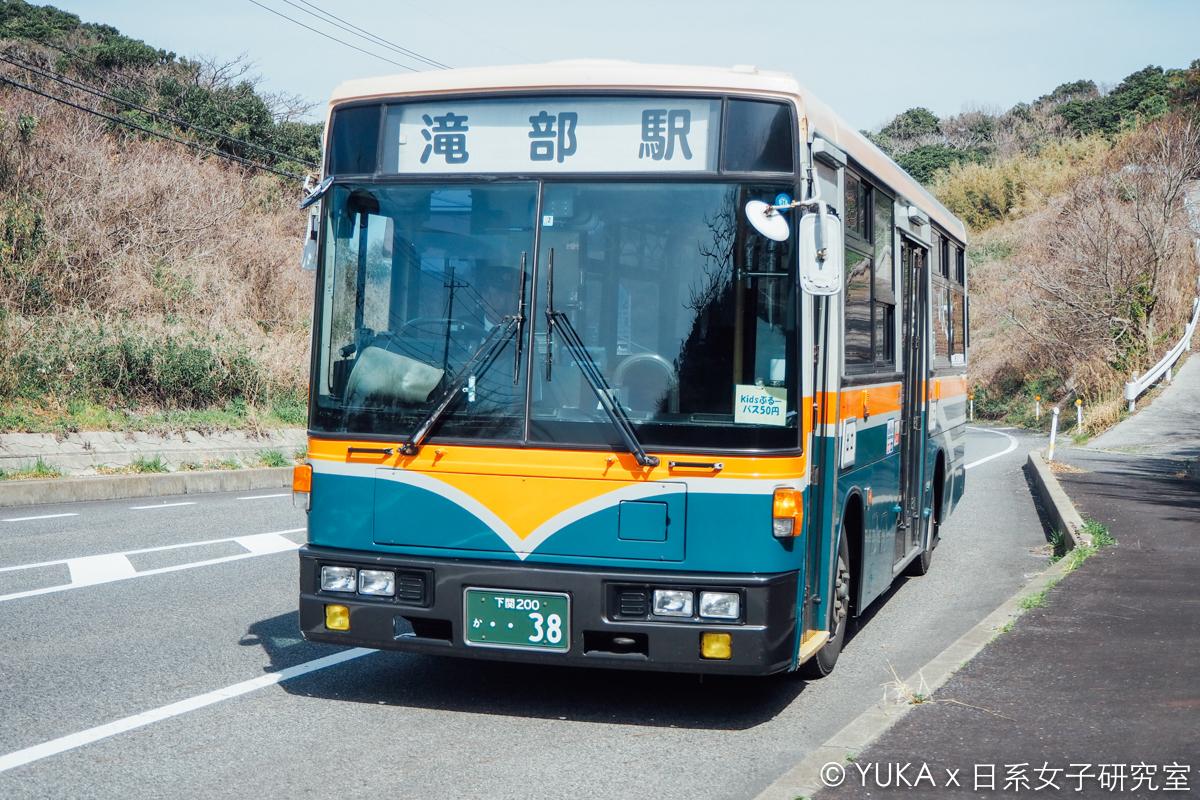 角島大橋交通-角島巴士