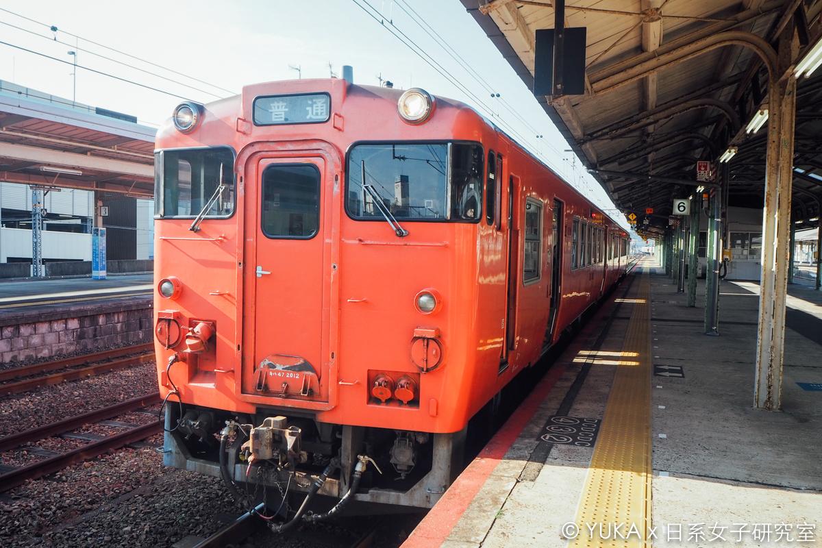 角島大橋交通-JR山陰本線