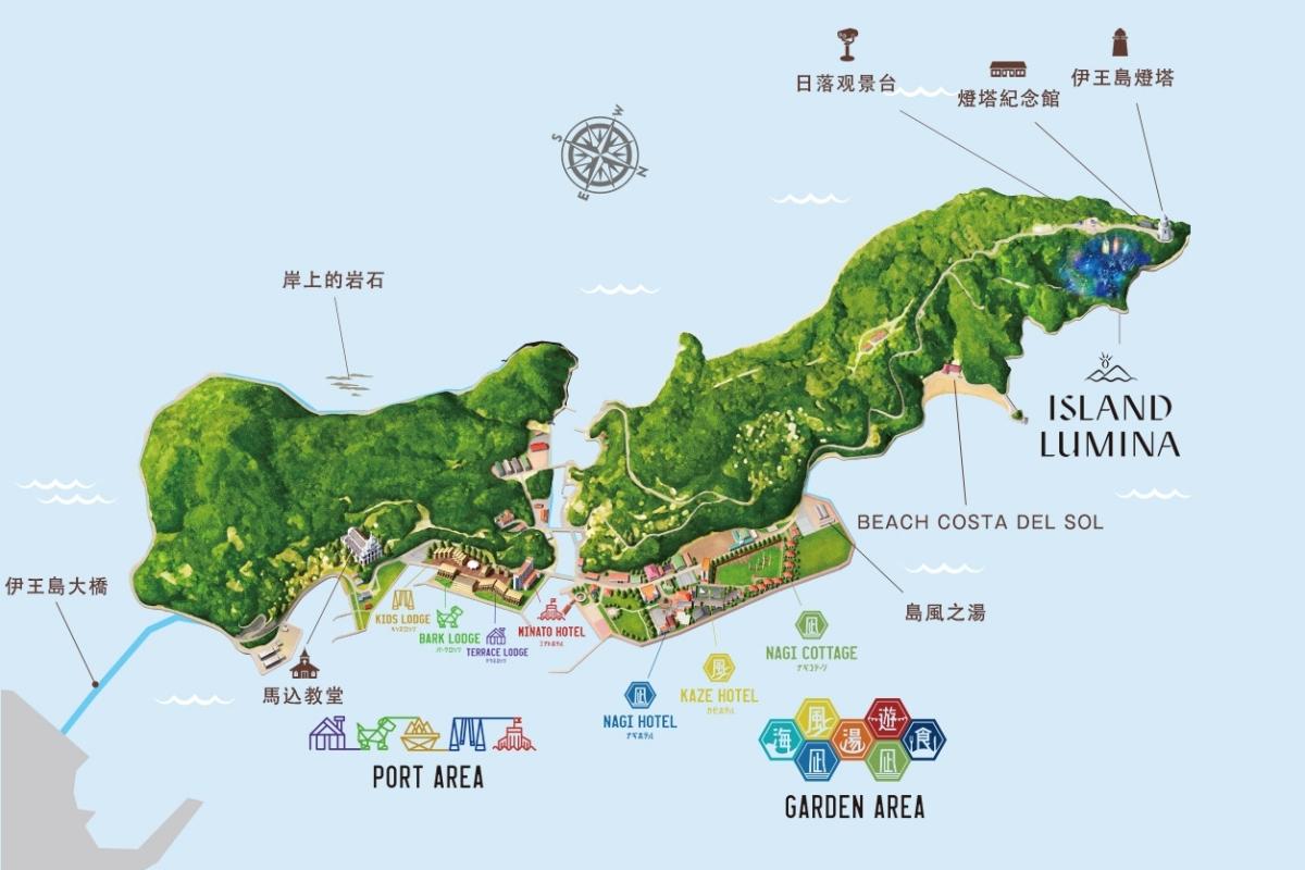 長崎伊王島地圖
