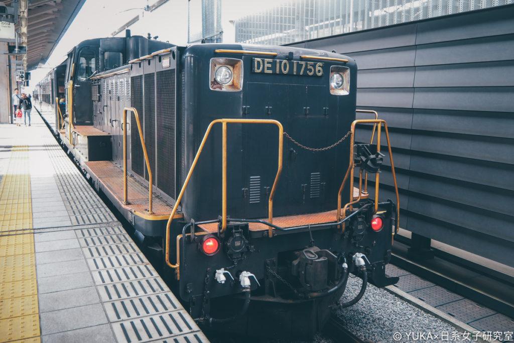 九州JR列車SL人吉外觀車尾