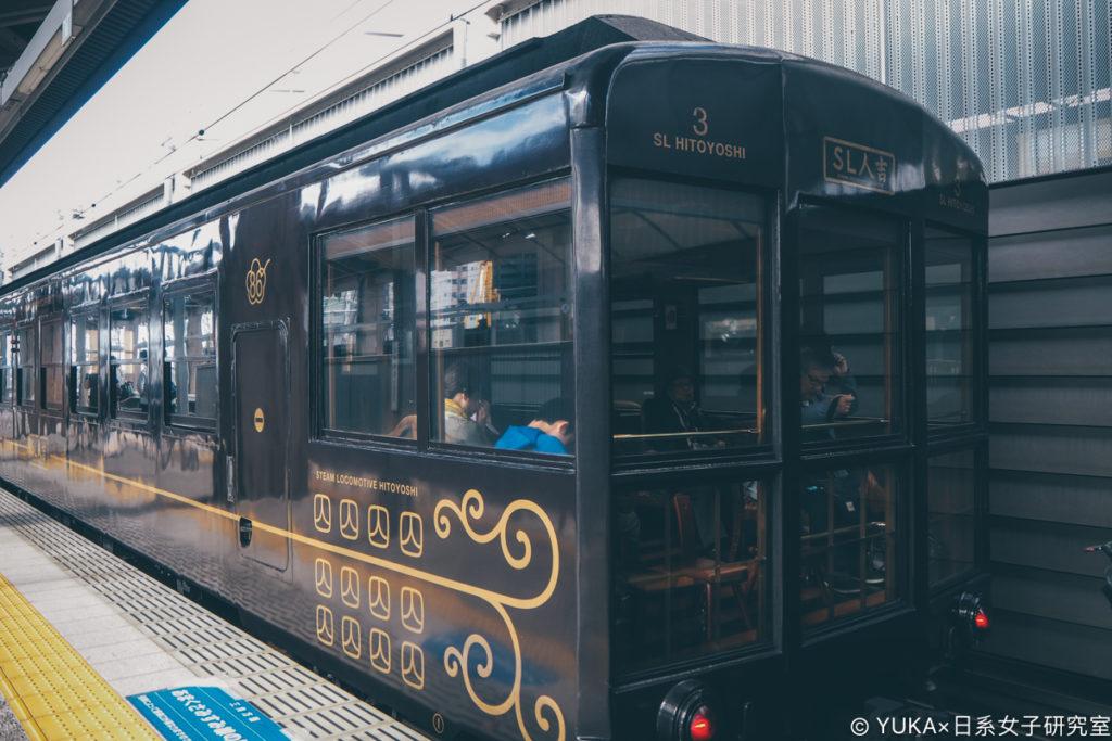 九州JR列車SL人吉外觀