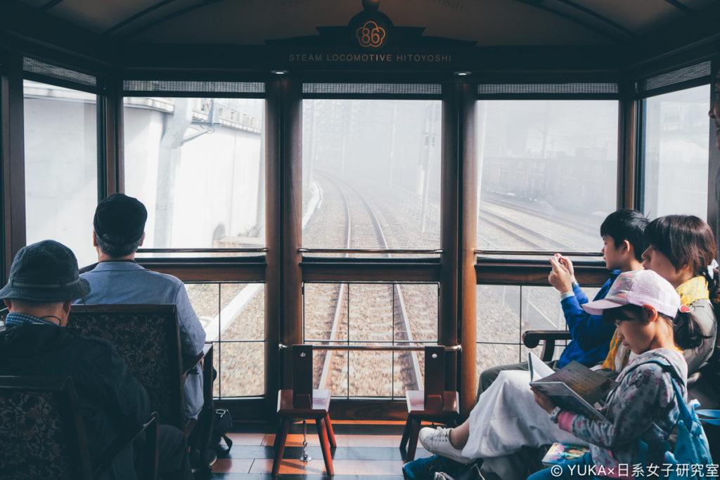 九州JR列車SL人吉展望休憩室