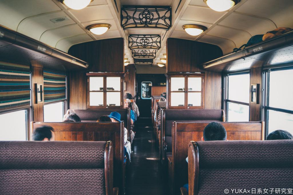 九州JR列車SL人吉第二節車廂