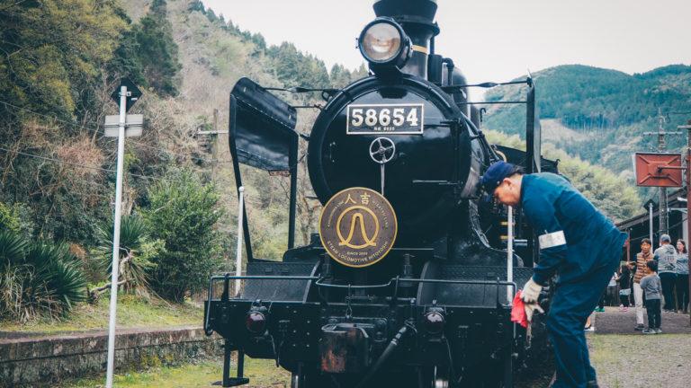 九州JR列車SL人吉