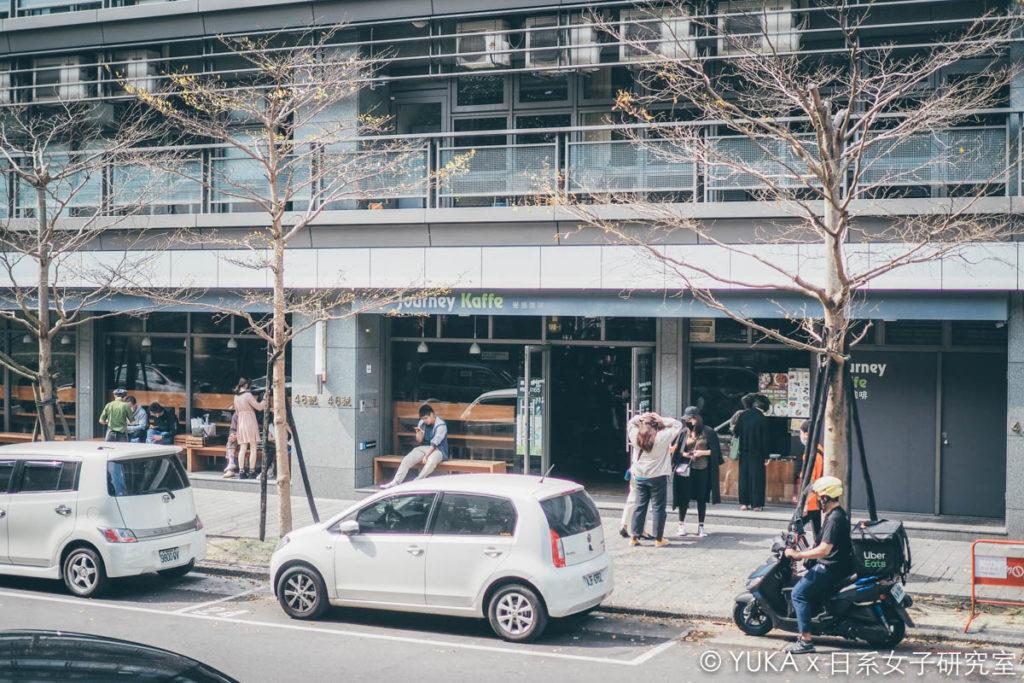 覺旅咖啡陽光店外觀.