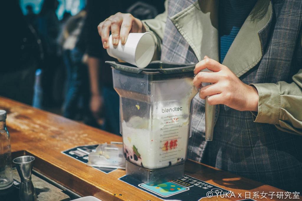 覺旅咖啡陽光店-打果汁