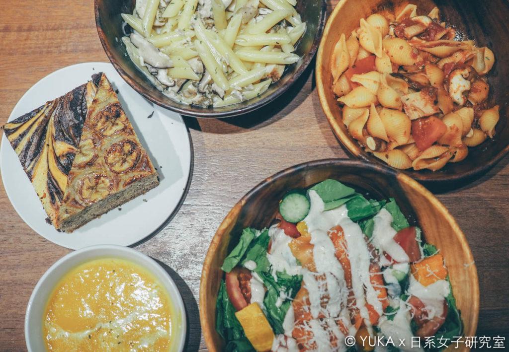 覺旅咖啡陽光店-餐點