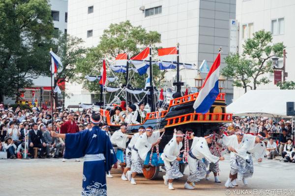 【長崎】九州長崎祭典介紹:長崎宮日節くんち、帆船祭、長崎燈會、夏日祭典港祭