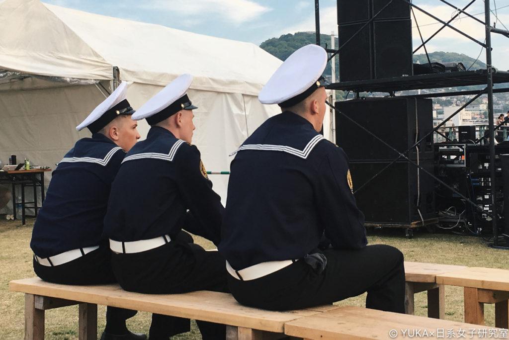長崎帆船祭水手